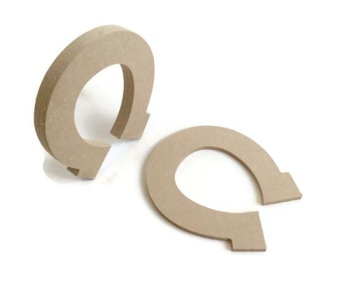 MDF Wooden Horseshoe 6mm or 15mm Thick