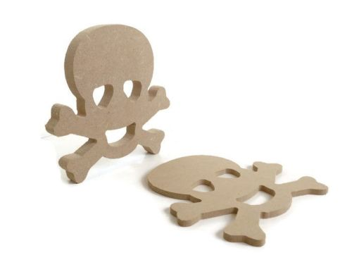 MDF Wooden Skull 6mm or 15mm Thick