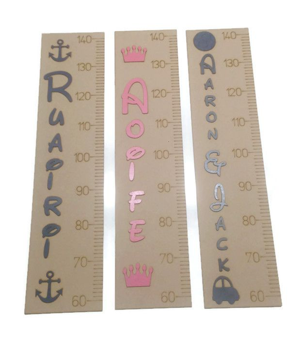 Personalised Wall Rulers