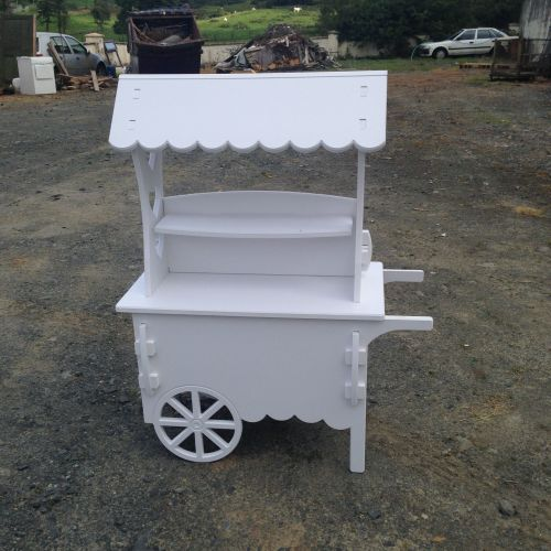 PVC Celebration Candy Cart 1.2m High