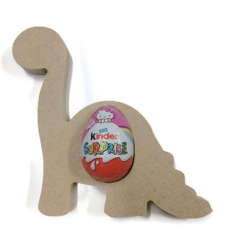 Freestanding MDF Kinder or Creme Egg Holders - Dinosouar