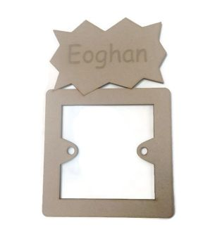Light Switch Surrounds - Personalised Name