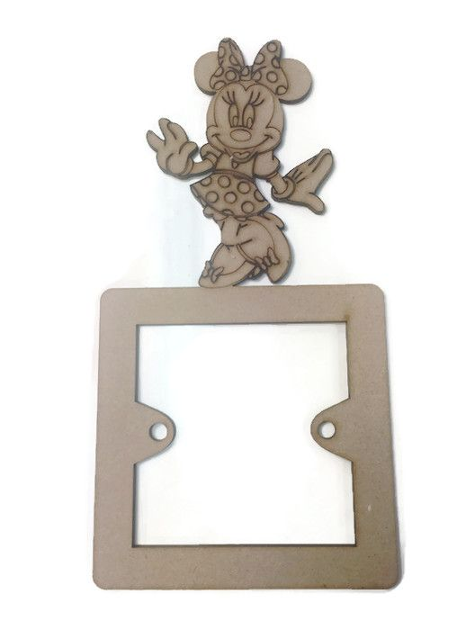 Light Switch Surrounds - Minnie Mouse