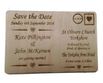 Wedding Invites Unvarnished - Postcard