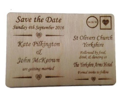 Wedding Invites Unvarnished - Postcard