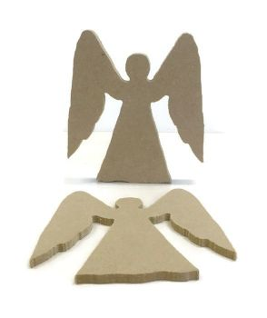 MDF Wooden Angel 6mm or 15mm Thick