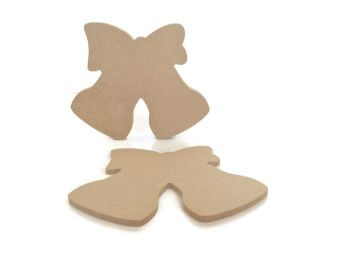 MDF Wooden Bells 6mm or 15mm Thick