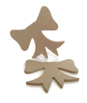 MDF Wooden Bow 6mm or 15mm Thick