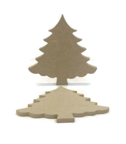 MDF Wooden Christmas Tree 6mm or 15mm Thick