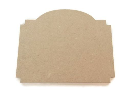 MDF Wooden Plaque J 6mm or 15mm Thick