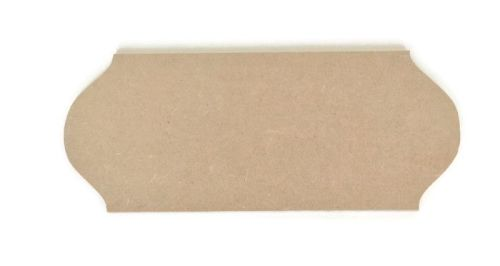 MDF Wooden Plaque K 6mm or 15mm Thick
