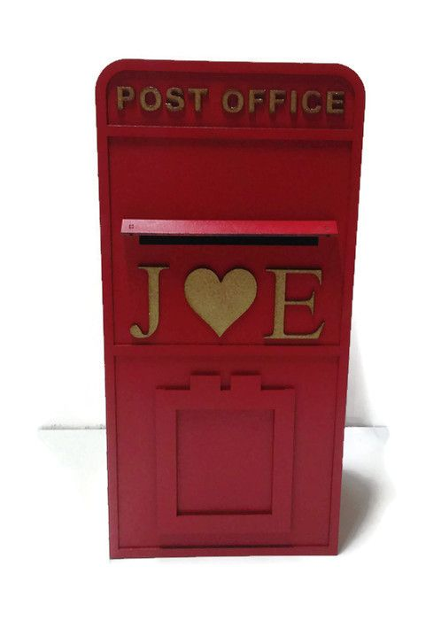Personalised Painted Postbox Royal Mail Style