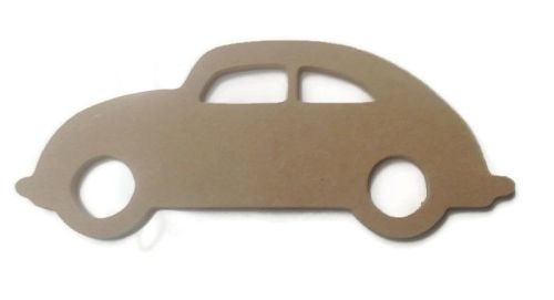 MDF Wooden Car 6mm or 15mm Thick