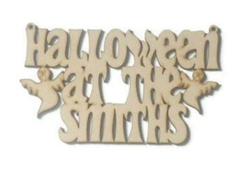 3mm MDF 'Halloween At The'