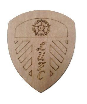 Leeds United Plywood Football Crest