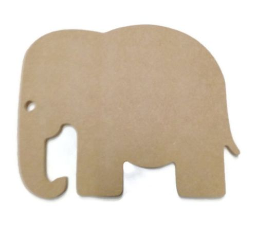 MDF Wooden Elephant 2 6mm or 15mm Thick