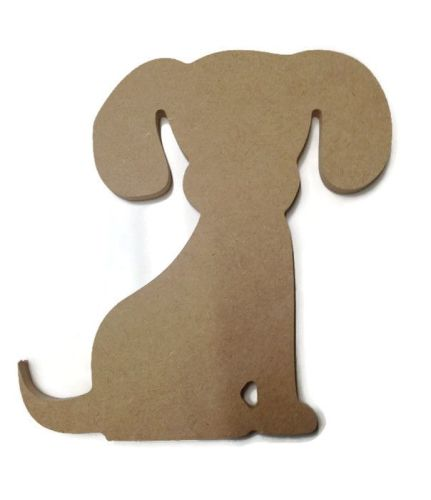 MDF Wooden Dog 6mm or 15mm Thick