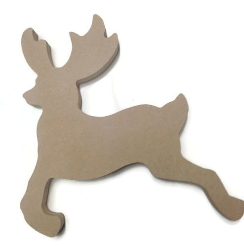 MDF Wooden Deer 6mm or 15mm Thick