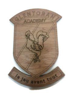 Glentoran Plywood Football Crest