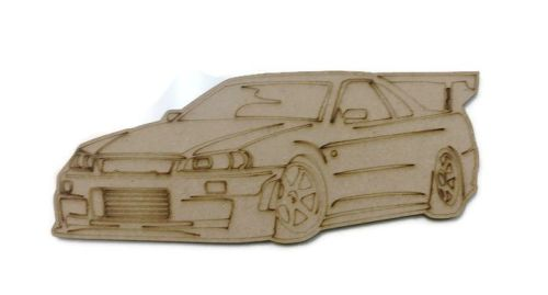 Car Figure 100mm - 500mm, 4mm Thick