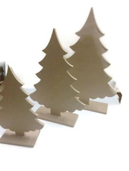 Large Freestanding Christmas Trees 300mm, 400mm, 500mm