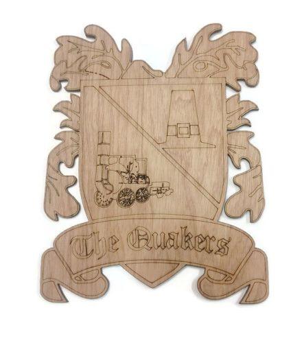Darlington FC Plywood Football Crest