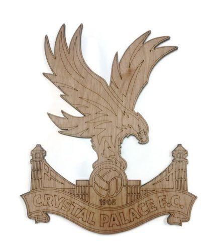 Crystal Palace Plywood Football Crest