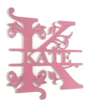Painted Monogram Letters Various Sizes