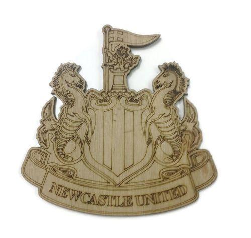 Newcastle United Plywood Football Crest
