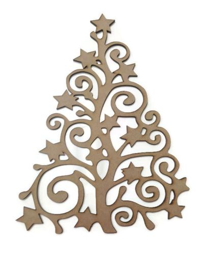 Large MDF Christmas Tree 6mm Thick