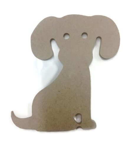 MDF Wooden Dog 2 6mm or 15mm Thick