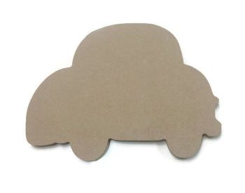 MDF Wooden Car 2 6mm or 15mm Thick