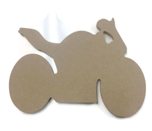 MDF Wooden Motorbike 6mm or 15mm Thick