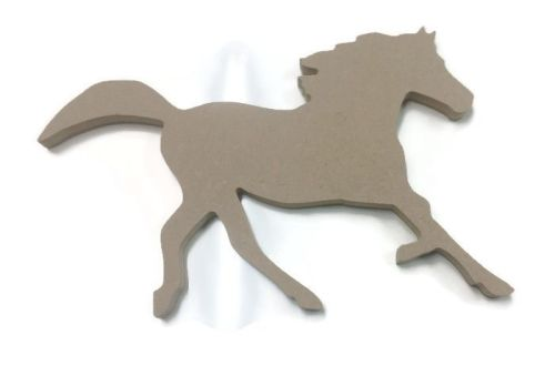 MDF Wooden Horse 2 6mm or 15mm Thick