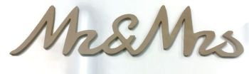 FREESTANDING MDF Wooden Joined New Script Letters 15mm Thick, 200mm High
