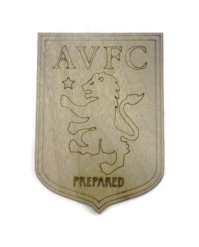 Aston Villa Plywood Football Crest