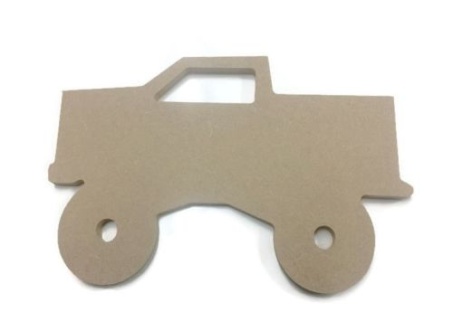 MDF Wooden Truck 6mm or 15mm Thick