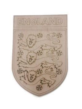 England Plywood Football Crest