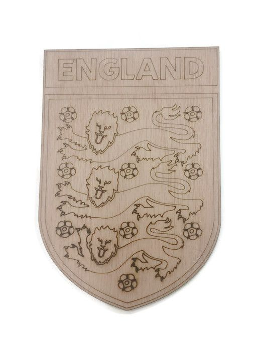 England Plywood Football Crest