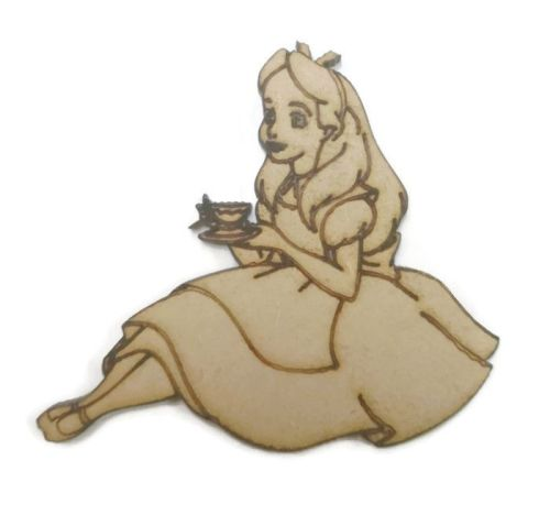 Alice In Wonderland Figure 100mm - 500mm, 4mm Thick
