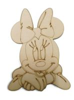 Minnie Mouse Head Figure 100mm - 500mm, 4mm Thick