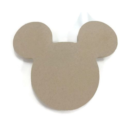 MDF Wooden Mickey Mouse Head 6mm or 15mm Thick