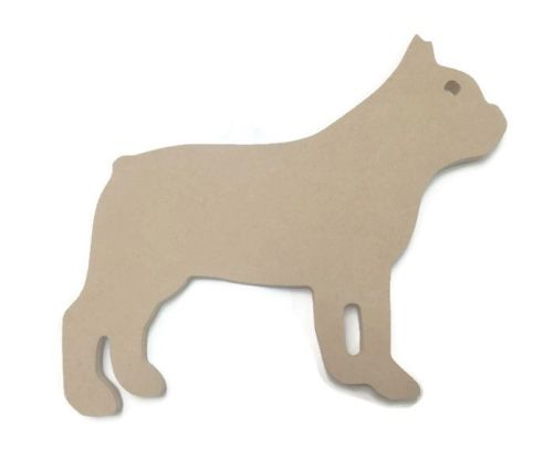 MDF Wooden Dog 3 6mm or 15mm Thick