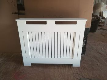 Radiator Covers Wooden MDF Slatted Various Sizes  PAINTED