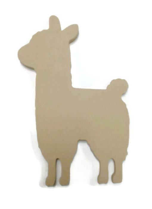 MDF Wooden Llama 6mm or 15mm Thick