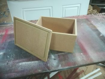 Wooden Boxes With Removable Lid (Blank Top)