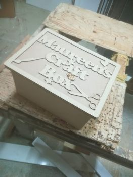Wooden Boxes With Removable Lid (Personalised Top)