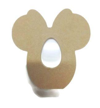 Freestanding MDF Kinder or Creme Egg Holders - Minnie Mouse