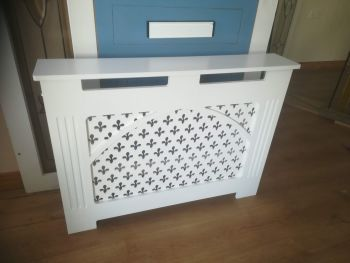 Radiator Covers Wooden MDF Arch Design Various Sizes  PAINTED