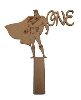 MDF Wooden Wedding, Party Standing Table Numbers, Superhero